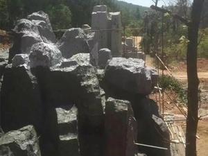 云南昆明假山项目