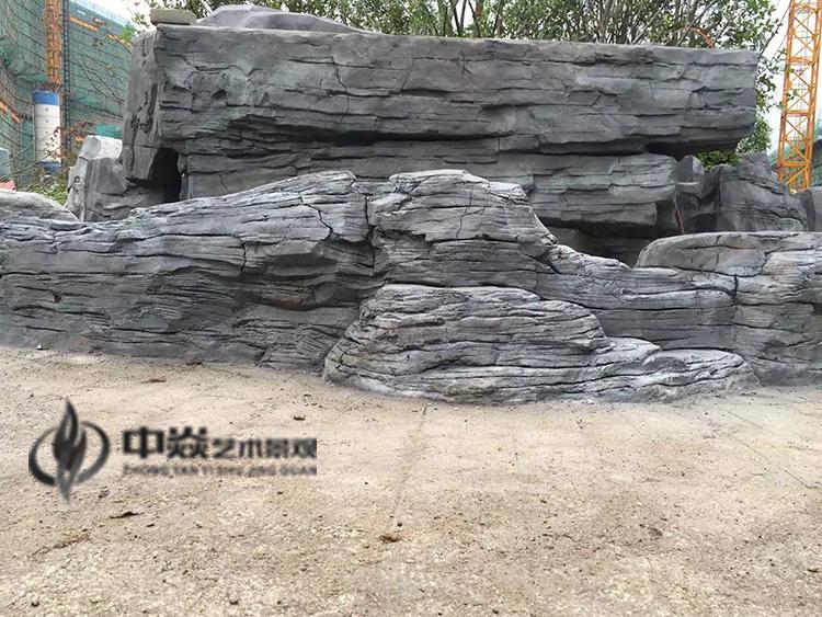 江苏盛和集团南通塑石假山工程