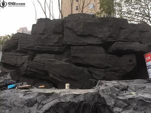温州万达塑石假山项目