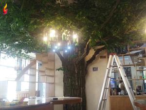 水泥假树案例图片